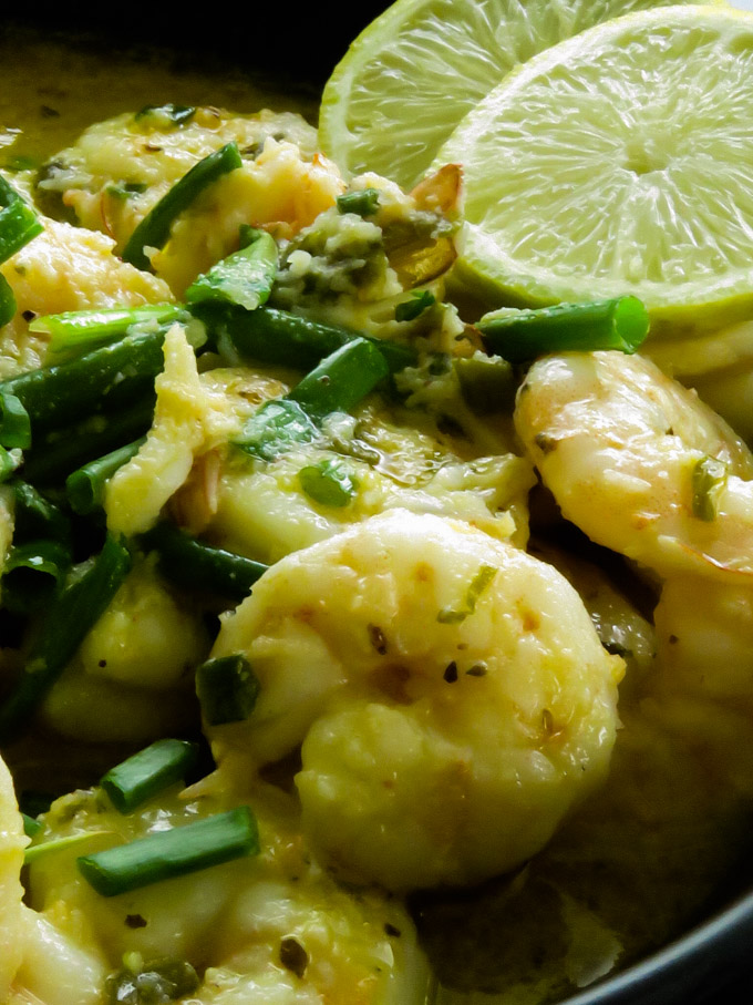 shrimp in garlic butter