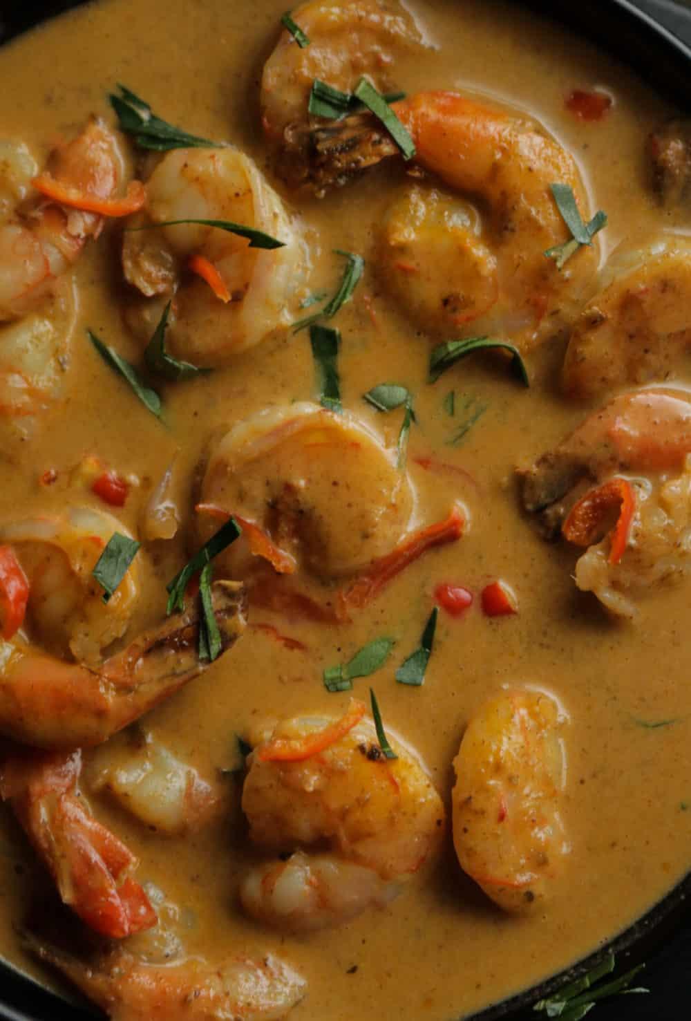 Thai coconut shrimp curry made easy